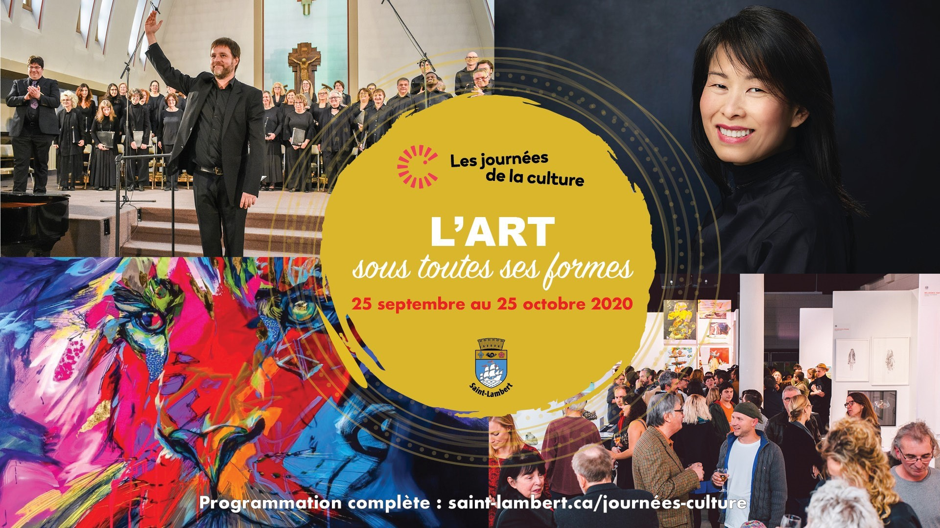 Discover various artistic disciplines in Saint-Lambert during the Journées de la culture