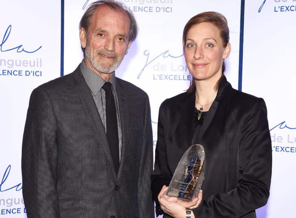 Chloé Beaulac, artiste exposante du Musée à ciel ouvert, remporte un prix