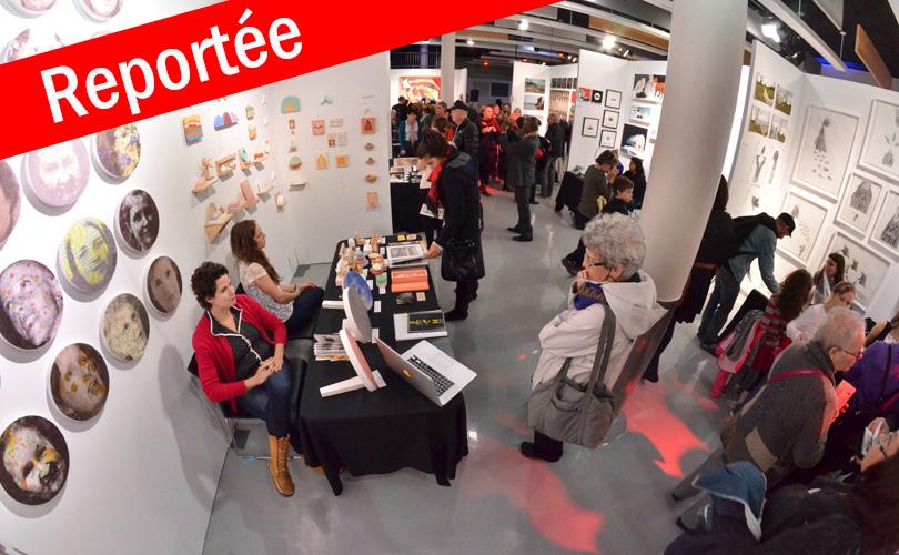 REPORTÉE | Foire d'art contemporain de Saint-Lambert
