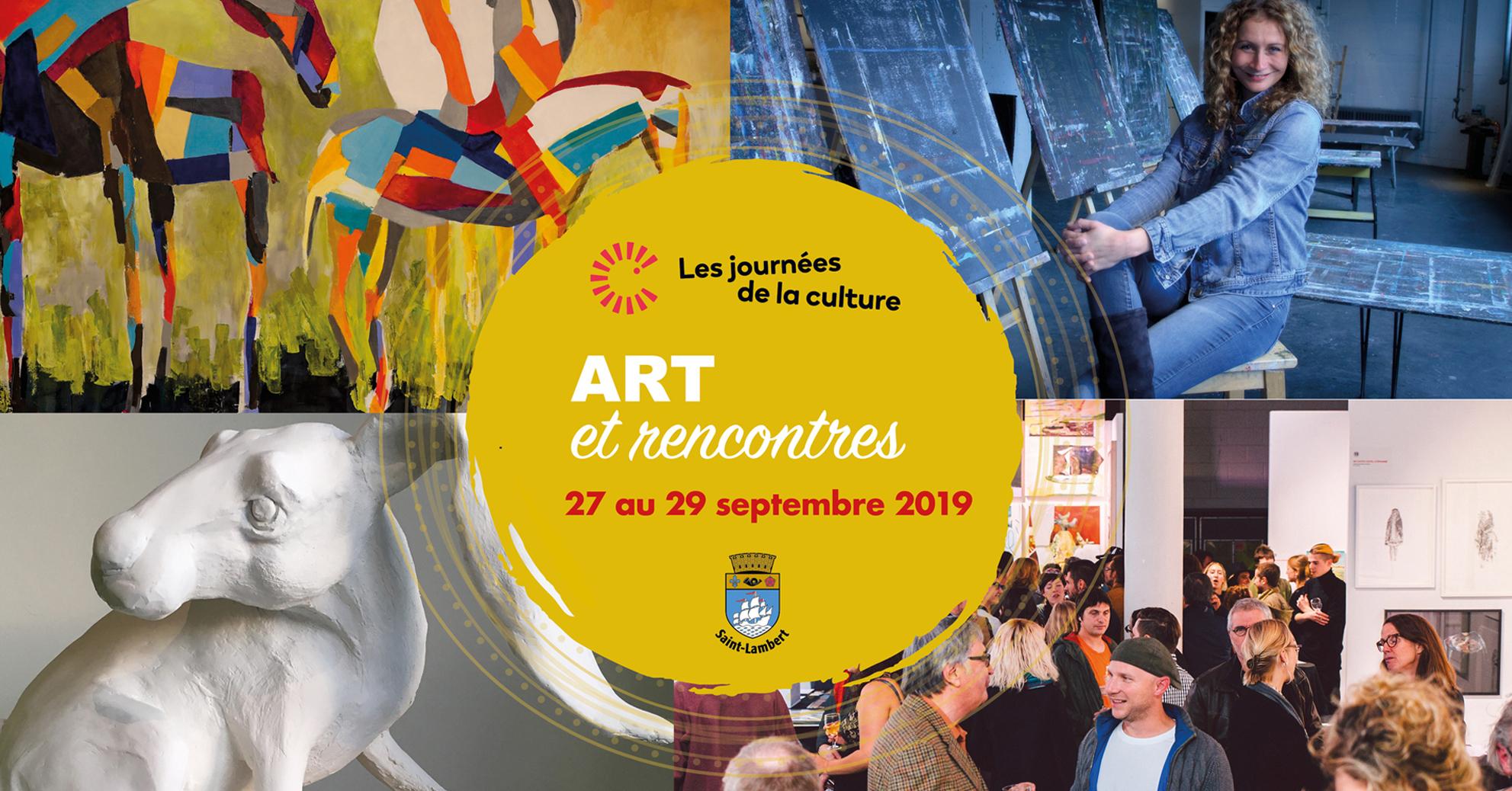 Spotlight on encounters during the Journées de la culture in Saint-Lambert!